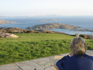 views from Thidwick bnb, ring of kerry